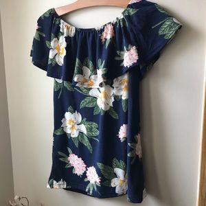 Floral Top by Magazine